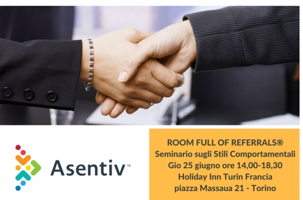 Room full of Referrals  Scopri come migliorare le tue abilita di networking