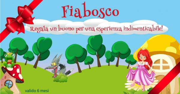 REGALA FIABOSCO - OPEN TICKET