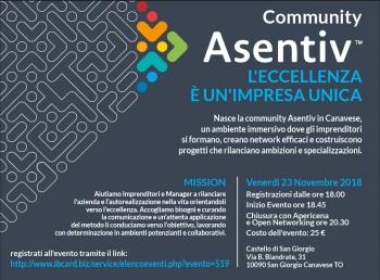 Lancio Community  Asentiv Canavese
